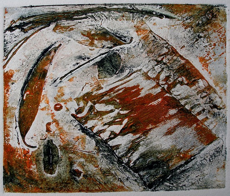 Collagraph by Pam Bleakley   Printmaking