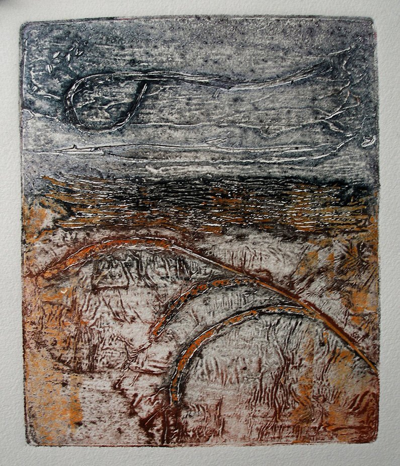Rosemary Royds | Collagraph 2