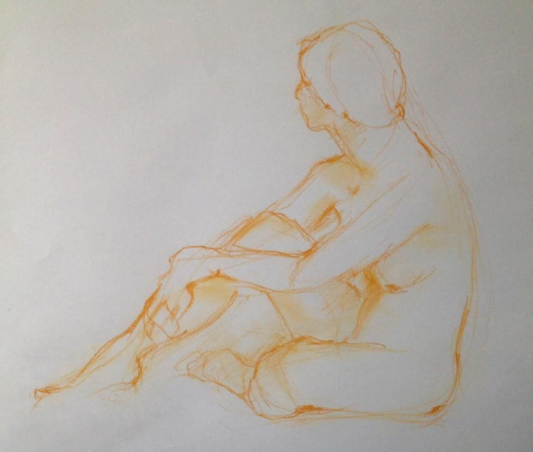 Anne Temperley | life drawing