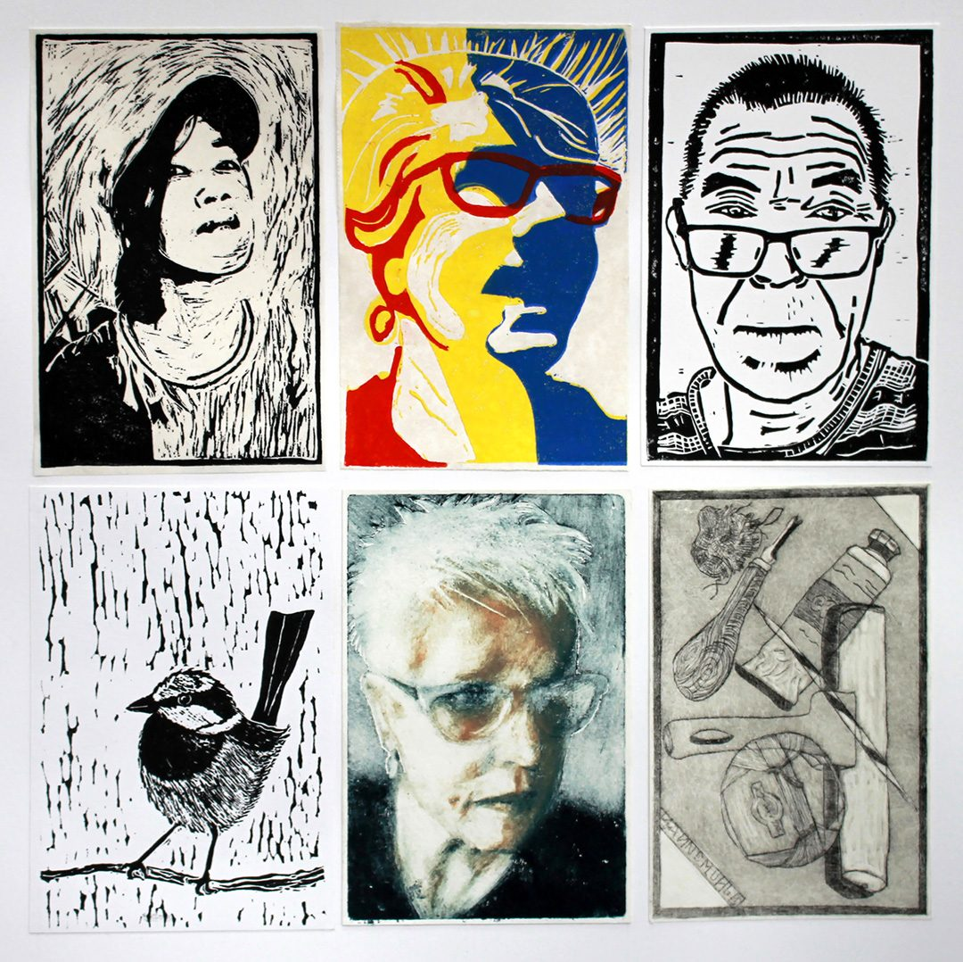 Printmaking Group 2018   Group Therapy