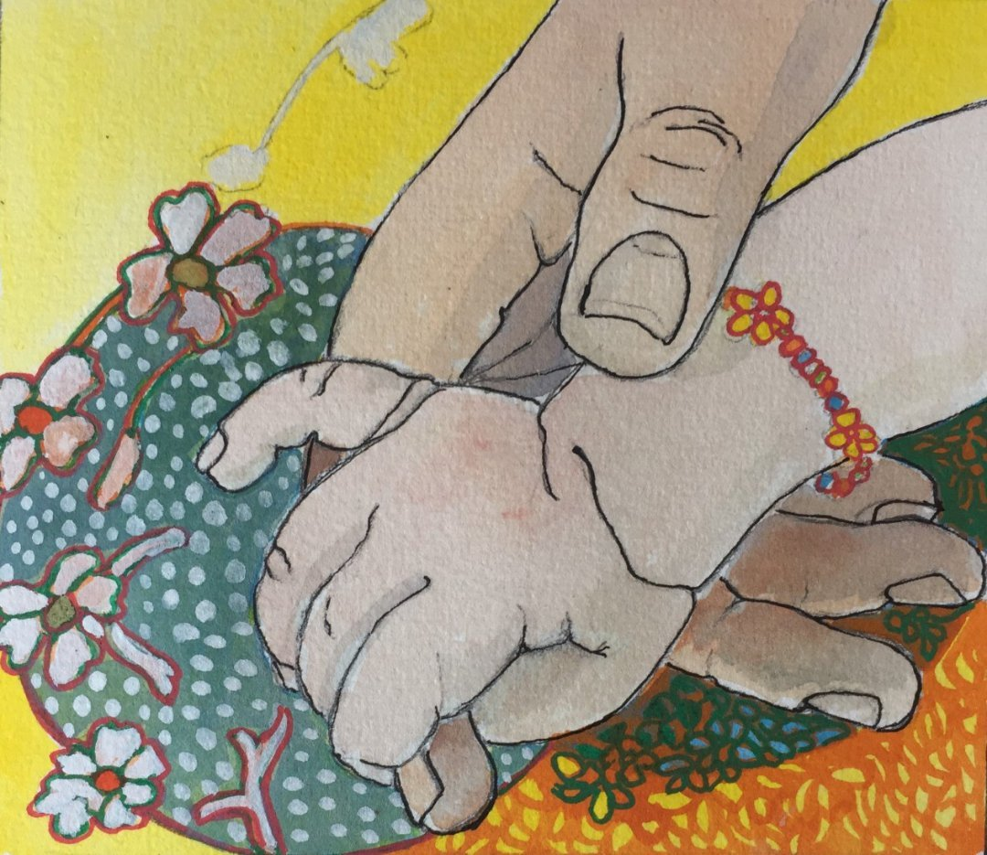 Prue POWER   Hand In Hand   Mixed Media   2021