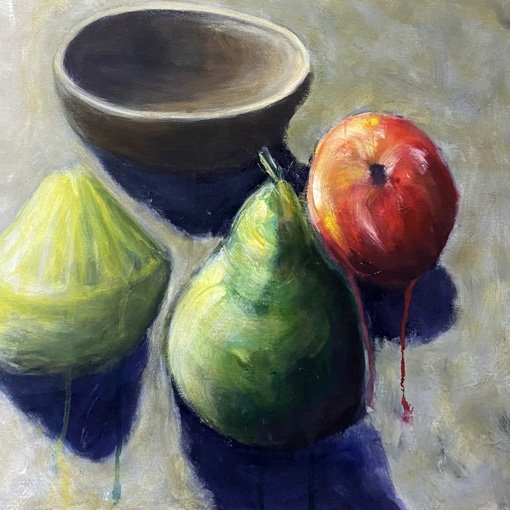 Student work | 2021 | Tonal painting exercise | Fundamentals | unknown size